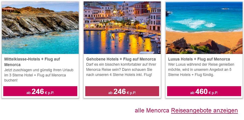 Menorca Reiseangebote 2019 Bei Billig Flug Vergleich Com Buchen