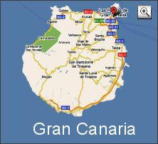 Karte Gran Canaria (Map Las Palmas de Gran Canaria)