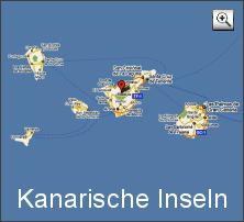 karte  kanarische inseln (map kanaren)