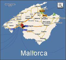 Karte  Mallorca (Map Mallorca)